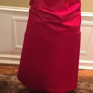 Jones New York Satin maxi length skirt